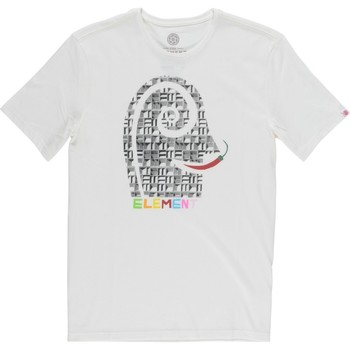 Abbigliamento Uomo T-shirt maniche corte Element T-Shirt Uomo Pimiento Bianco
