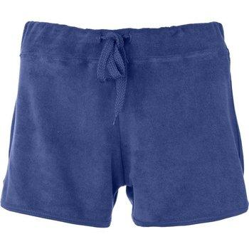Abbigliamento Donna Shorts / Bermuda Get Fit Short Donna Sponge Blu