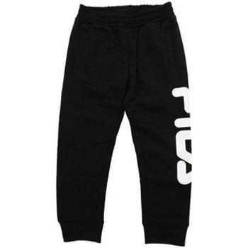 Abbigliamento Unisex bambino Pantaloni da tuta Fila Pantalone Bambino Classic Logo Nero