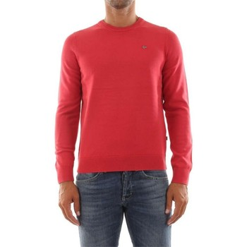 Abbigliamento Uomo Maglioni Napapijri Maglioncino Uomo Drox Rosso