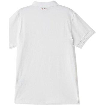 Abbigliamento Uomo Polo maniche corte Napapijri Polo Uomo Casual Enora Jersey Bianco