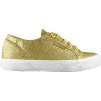 Scarpe Donna Sneakers basse Superga Scarpe Donna 2750 Glitter Oro