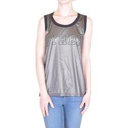 Abbigliamento Donna Top / T-shirt senza maniche Pyrex Canotta Laminata Donna Marrone