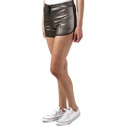 Abbigliamento Donna Shorts / Bermuda Pyrex Short Traforato Laminato Donna Marrone