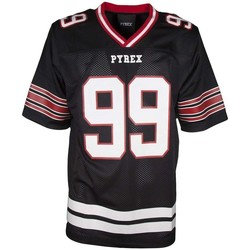 Abbigliamento Uomo T-shirt maniche corte Pyrex T-shirt Football Uomo Nero