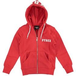 Abbigliamento Bambino Felpe Pyrex Felpa Ragazzo Con Cappuccio Rosso
