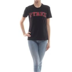 Abbigliamento Donna T-shirt maniche corte Pyrex T-shirt Donna Svarovski Rosso Nero