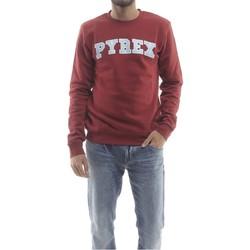 Abbigliamento Uomo Felpe Pyrex Felpa Uomo New Logo Rosso