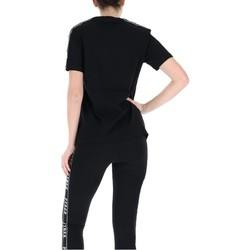 Abbigliamento Donna T-shirt maniche corte Pyrex T-Shirt Donna Glitter Banda Nero