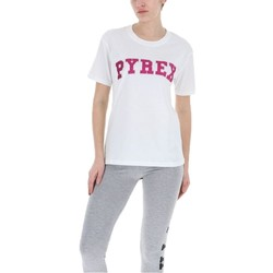 Abbigliamento Donna T-shirt maniche corte Pyrex T-Shirt Donna Glitter Bianco