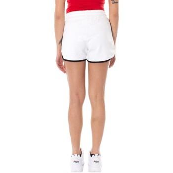 Abbigliamento Donna Shorts / Bermuda Pyrex Shorts Donna Loghino Bianco