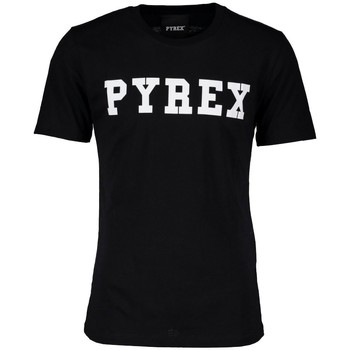 Abbigliamento Uomo T-shirt maniche corte Pyrex T-Shirt Uomo Basic Nero