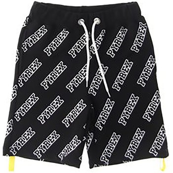 Abbigliamento Unisex bambino Shorts / Bermuda Pyrex Bermuda Bambino Logato Nero