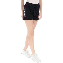 Abbigliamento Donna Shorts / Bermuda Pyrex Short Donna Lurex Nero