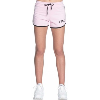 Abbigliamento Donna Shorts / Bermuda Pyrex Short Raso Donna Rosa