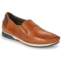 Scarpe Uomo Slip on Fluchos JAMES Marrone / Marine