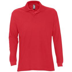 Abbigliamento Uomo Polo maniche lunghe Sols STAR MODERN MEN Rojo
