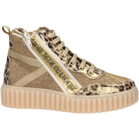 Scarpe Donna Sneakers Voile Blanche SPRY HIGH oro
