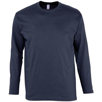Abbigliamento Uomo T-shirts a maniche lunghe Sols MONARCH COLORS MEN Azul