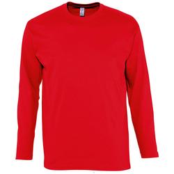 Abbigliamento Uomo T-shirts a maniche lunghe Sols MONARCH COLORS MEN Rojo