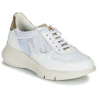 Scarpe Donna Sneakers basse Hispanitas CUZCO Bianco / Oro / Rosa