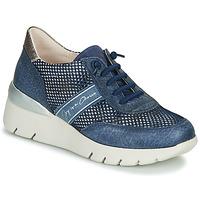 Scarpe Donna Sneakers basse Hispanitas RUTH Blu / Oro / Argento