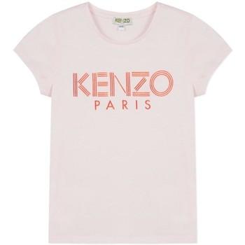 Abbigliamento Bambina T-shirt maniche corte Kenzo  Rosa