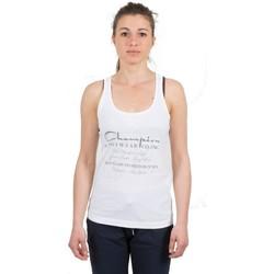 Abbigliamento Donna Top / T-shirt senza maniche Champion Canotta donna  Original Bianco