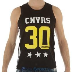 Abbigliamento Uomo Top / T-shirt senza maniche All Star Canotta uomo Mesh Tank Converse 30 Nero