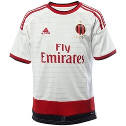Abbigliamento Unisex bambino T-shirt maniche corte adidas Originals Maglia Milan Away 14/15 Bianco