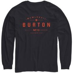 Abbigliamento Unisex bambino T-shirts a maniche lunghe Burton T-shirt bambino Numeral Jr manica lunga Blu