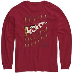 Abbigliamento Unisex bambino T-shirts a maniche lunghe Burton T-shirt bambino Pennant Jr Manica Lunga Rosso