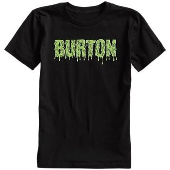 Abbigliamento Unisex bambino T-shirt maniche corte Burton T-shirt bambino Slime Jr Nero