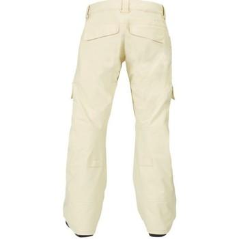 Abbigliamento Donna Pantalone Cargo Burton Pantalone snowboard donna Lucky Pant Bianco