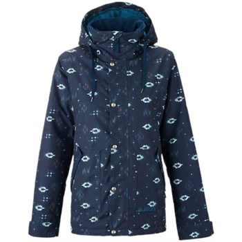 Abbigliamento Donna giacca a vento Burton Giacca donna Ginger snowboard Blu