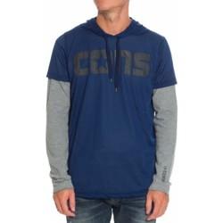 Abbigliamento Uomo T-shirts a maniche lunghe All Star Maglia uomo S&C Blu