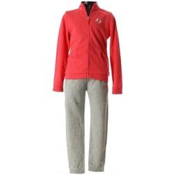 Abbigliamento Unisex bambino Tuta Champion Tuta bambina Full Zip Girl Rosso