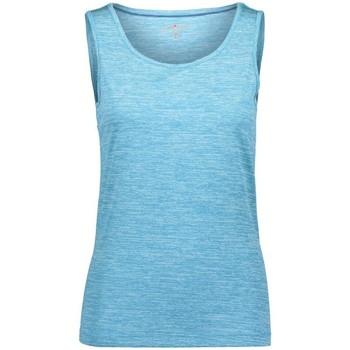 Abbigliamento Donna Top / T-shirt senza maniche Cmp Canotta Donna Tecnica Azzurro
