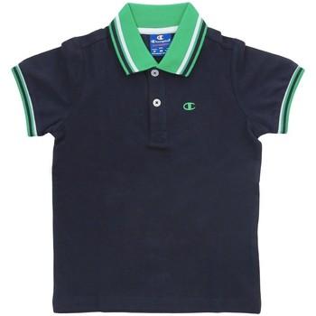 Abbigliamento Bambino Polo maniche corte Champion Polo Piquet Bambino Blu