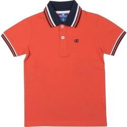 Abbigliamento Bambino Polo maniche corte Champion Polo Piquet Bambino Rosso