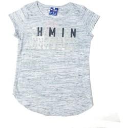Abbigliamento Bambina T-shirt maniche corte Champion T-shirt Ragazza Grigio