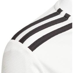 Abbigliamento Unisex bambino T-shirt maniche corte adidas Originals Maglia Real Madrid Home jr 18/19 Bianco