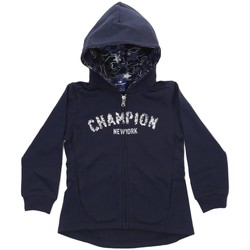 Abbigliamento Unisex bambino Felpe Champion Felpa Bambina Studio FZ Blu