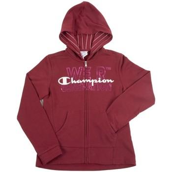 Abbigliamento Unisex bambino Felpe Champion Felpa Bambino Full Zip Rosso