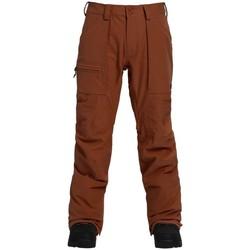 Abbigliamento Uomo Pantalone Cargo Burton Pantaloni Snowboard Uomo Southside Marrone