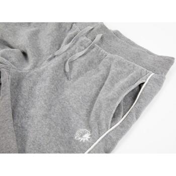 Abbigliamento Unisex bambino Pantaloni da tuta Champion Pantalone Junior Velour Grigio