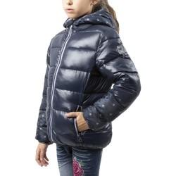 Abbigliamento Unisex bambino Piumini Champion Giacca Junior Bomber Logato Blu