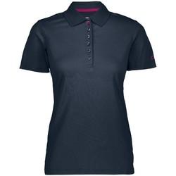 Abbigliamento Donna Polo maniche corte Cmp Polo Trekking Donna +6 Blu