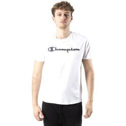 Abbigliamento Uomo T-shirt maniche corte Champion T-shirt Uomo American Classic Bianco