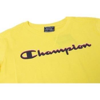 Abbigliamento Bambina T-shirt maniche corte Champion T-shirt Bambino American Classic Giallo